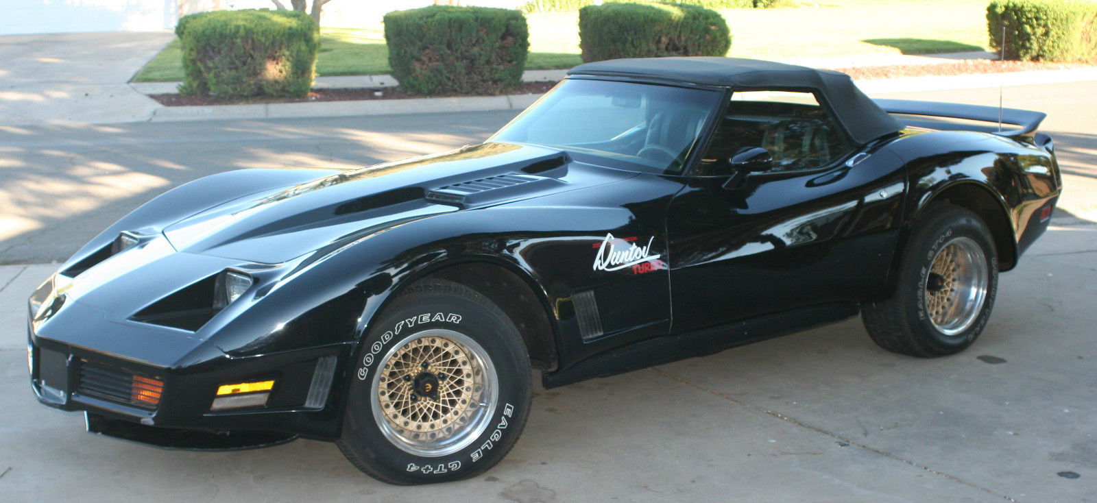 Carverse Epic Find Of The Day 1979 Duntov Turbo Corvette