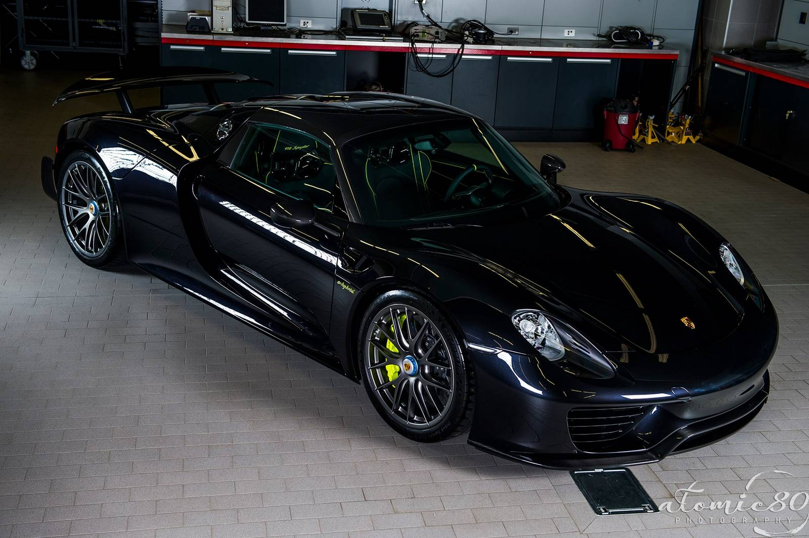 porsche 918 spyder weissach photo session