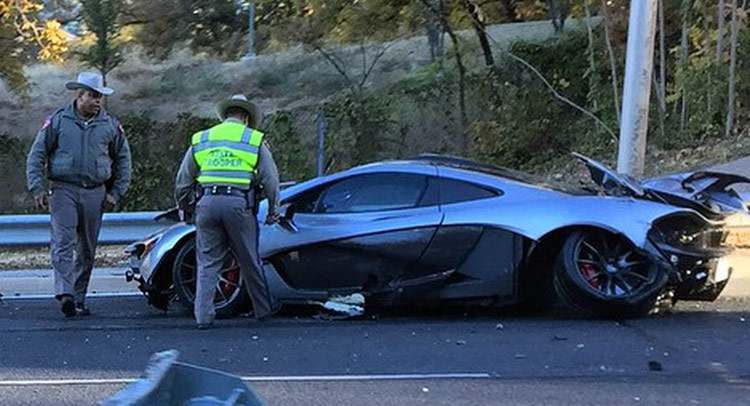 american mclaren p1 owner crashes car within 24 hours of delivery