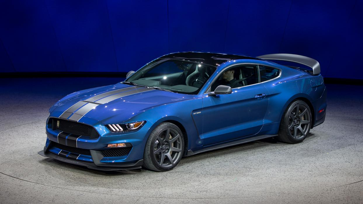 2016 Shelby Gt350r Designed Detailed