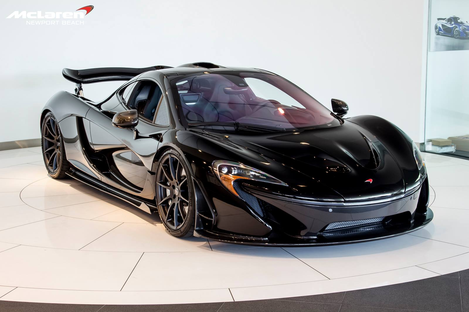 Stunning Fire Black Mclaren P1 Delivered