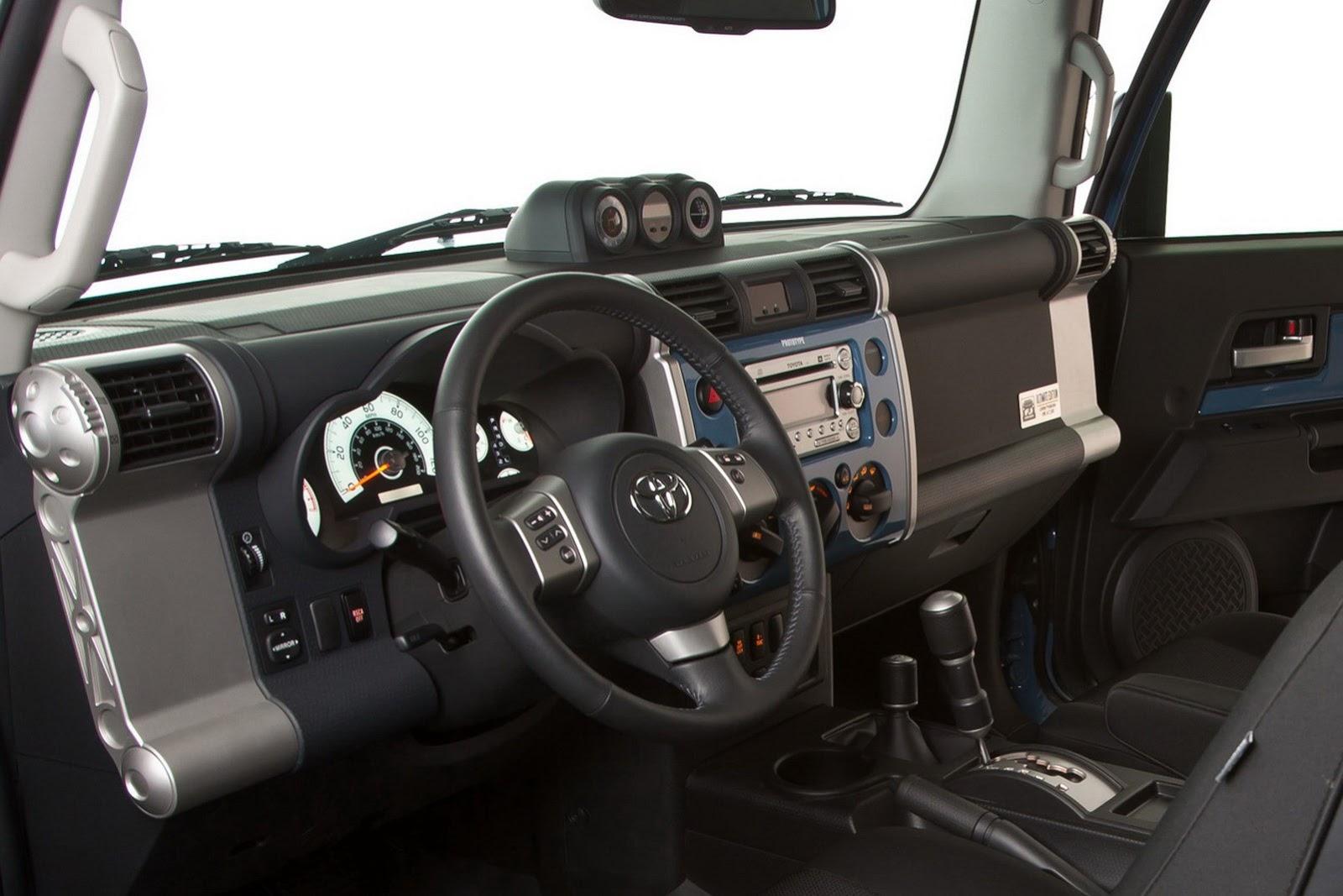 2014 toyota fj cruiser interior. see all photos 2014 toyota fj cruiser interior