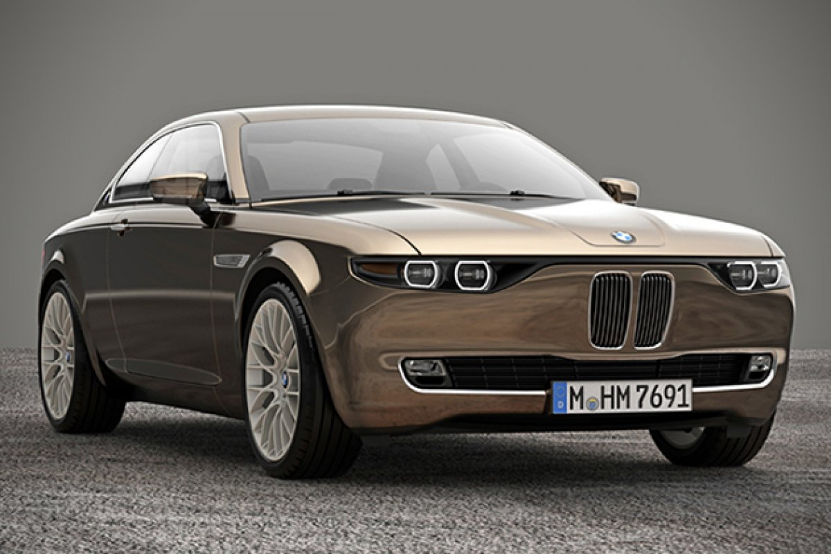 Retro Bmw Cs Concept