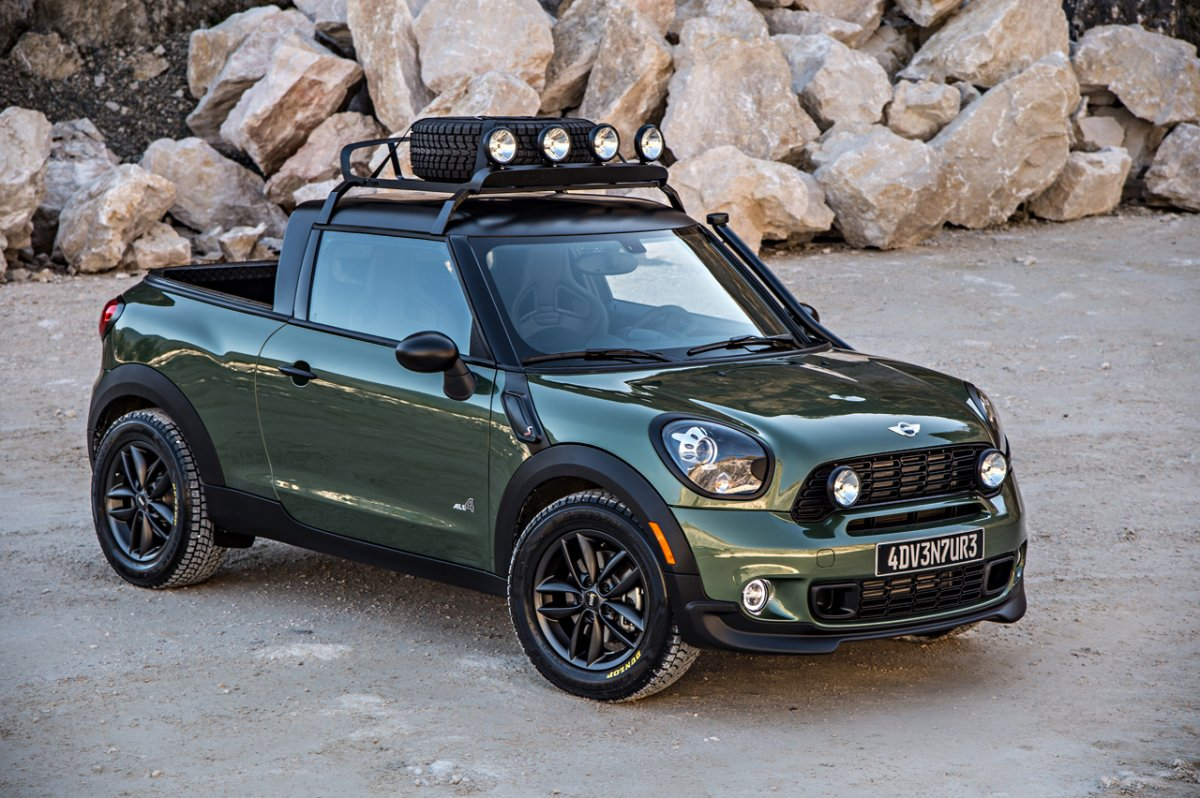 mini cooper paceman s truck concept. Black Bedroom Furniture Sets. Home Design Ideas