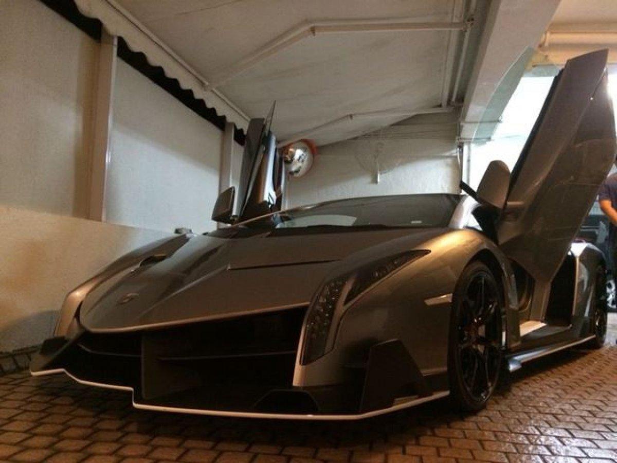 Last Lamborghini Veneno Spotted In Hong Kong