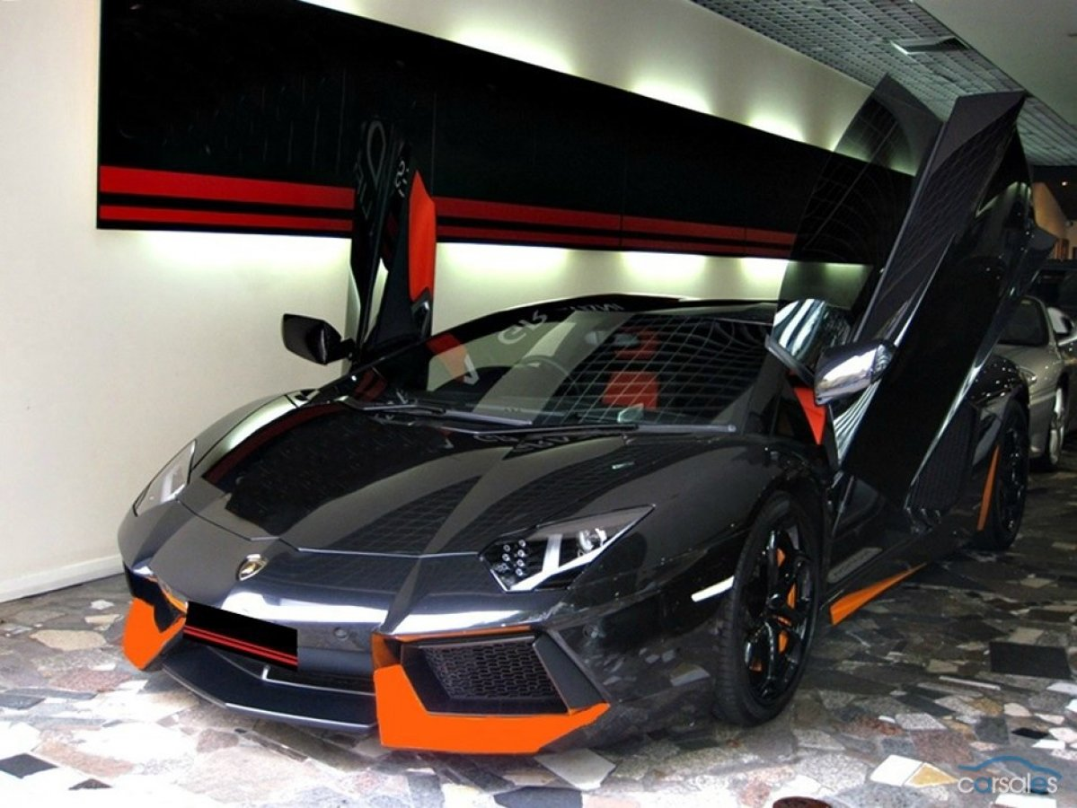 get ready for fall with this menacing halloween themed lamborghini aventador