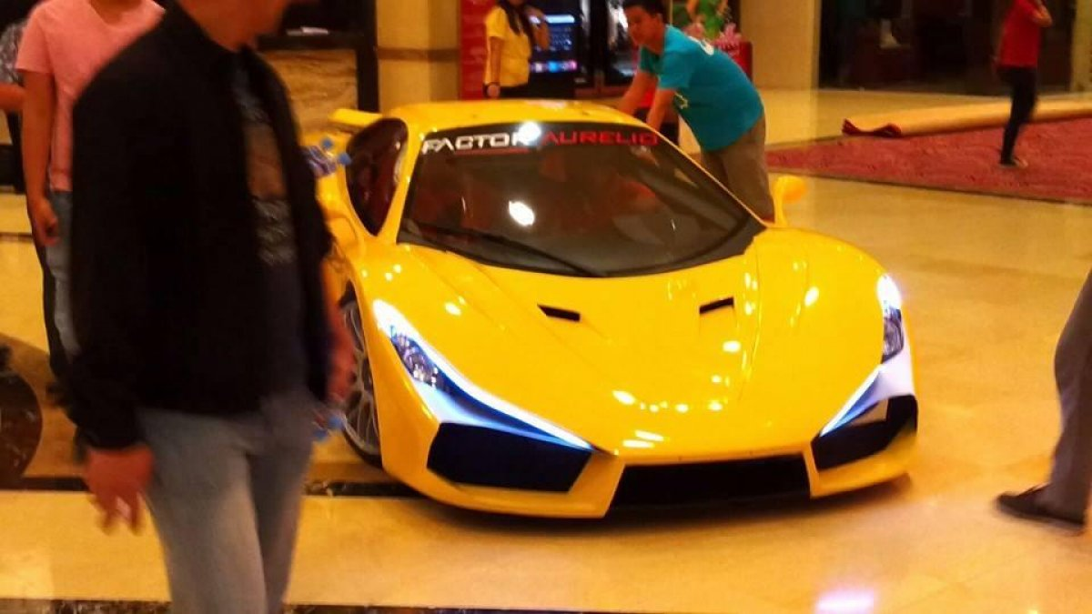 Aurelio supercar from the philippines for Pb motors rochester ny