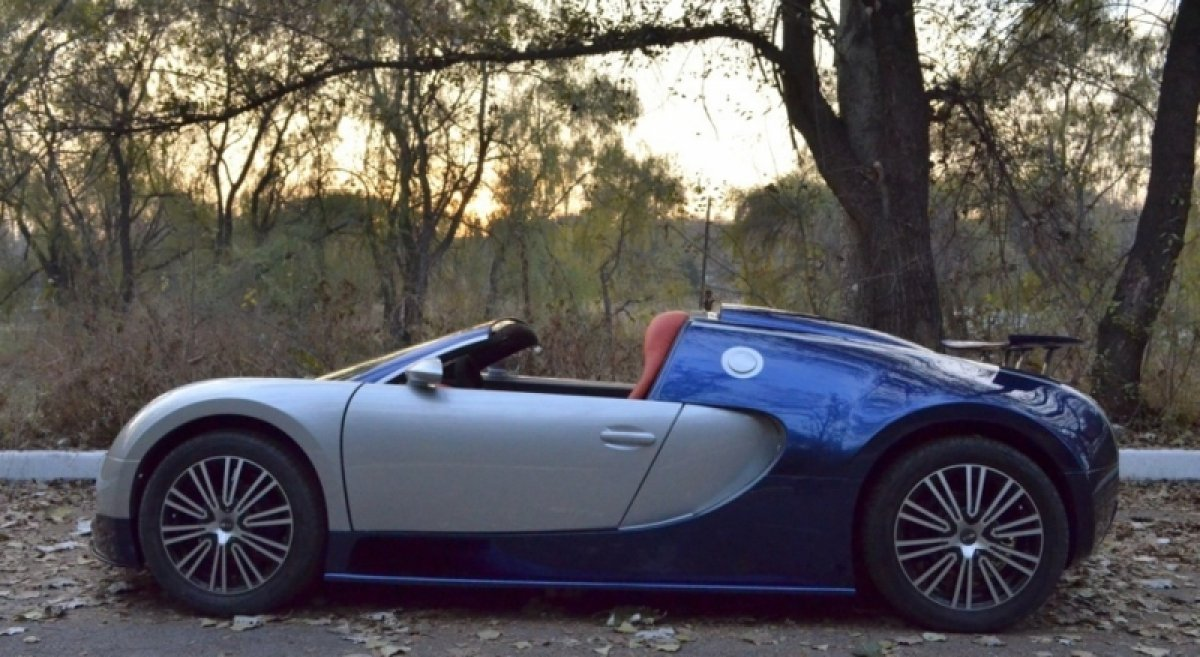Kid S Veyron Worth More Than Your Car