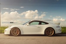 Porsche 911 GT3 Gold ADV.1 Wheels picture 2