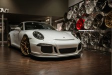 Porsche 911 GT3 Gold ADV.1 Wheels picture 4