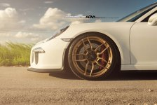 Porsche 911 GT3 Gold ADV.1 Wheels picture 5