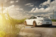 Porsche 911 GT3 Gold ADV.1 Wheels picture 7