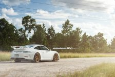 Porsche 911 GT3 Gold ADV.1 Wheels picture 9
