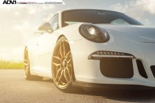 Porsche 911 GT3 Gold ADV.1 Wheels picture 10