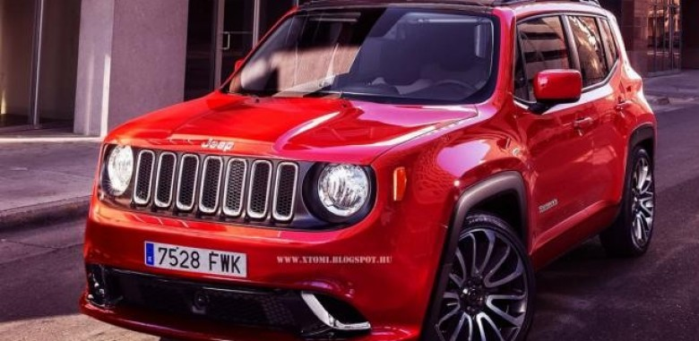 2015 Jeep Renegade Gets an SRT Boost in Rendering