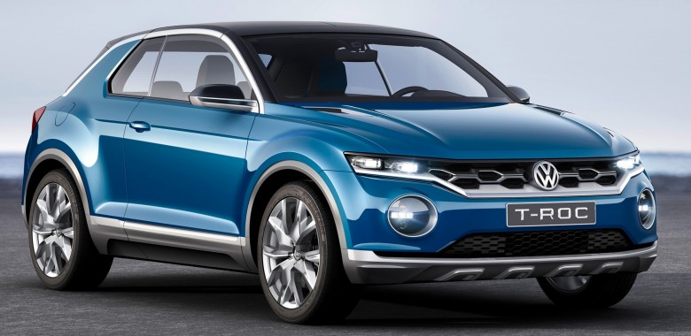2017 volkswagen t roc test mule testing in disguise. Black Bedroom Furniture Sets. Home Design Ideas