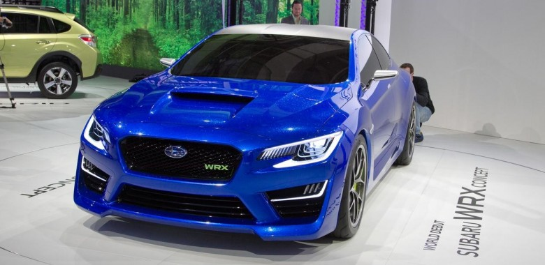 2016 Subaru Wrx To Receive Sexy Redesign