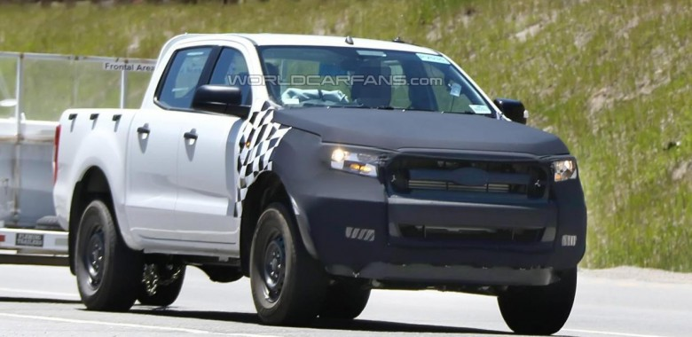 The 2015 Ford Ranger Caught Testing In The U.S.A