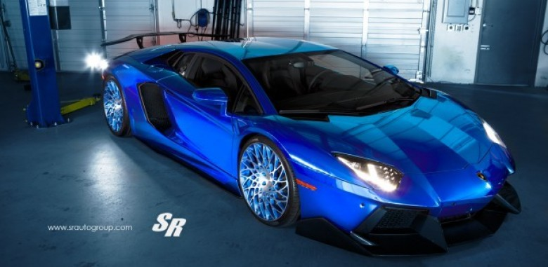 Sr Auto Group S Lamborghini Aventador Is Blue Steel At Its Finest