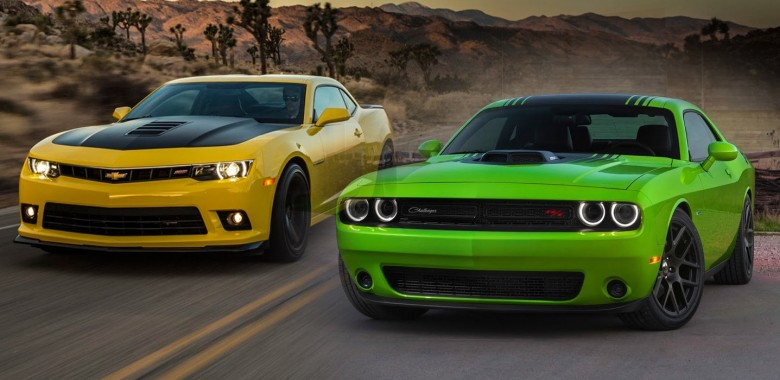 2015 Dodge Challenger Srt Hellcat Vs 2015 Chevrolet