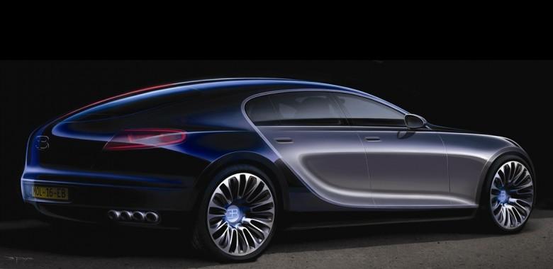 four door bugatti sedan has a new lease on life. Black Bedroom Furniture Sets. Home Design Ideas
