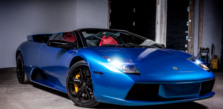 Supreme Custom S Lamborghini Murcielago Roadster Is A Blue Beast