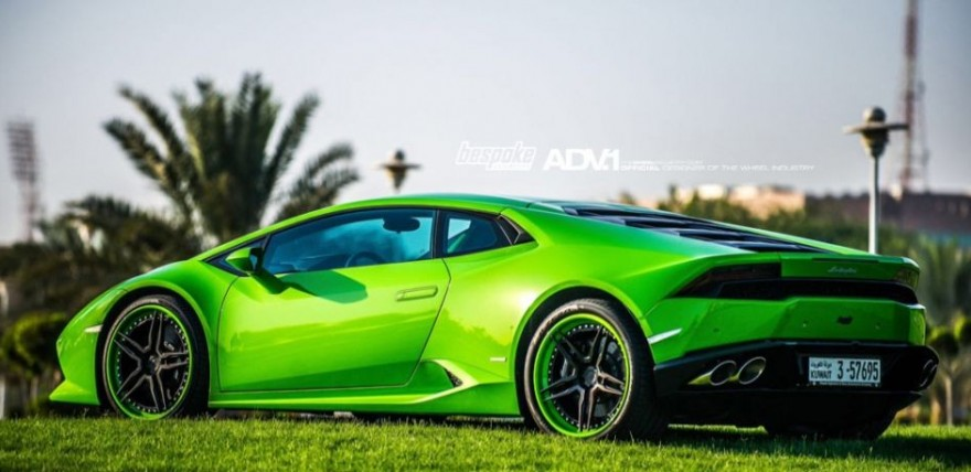 verde mantis lamborghini huracan on adv05. Black Bedroom Furniture Sets. Home Design Ideas