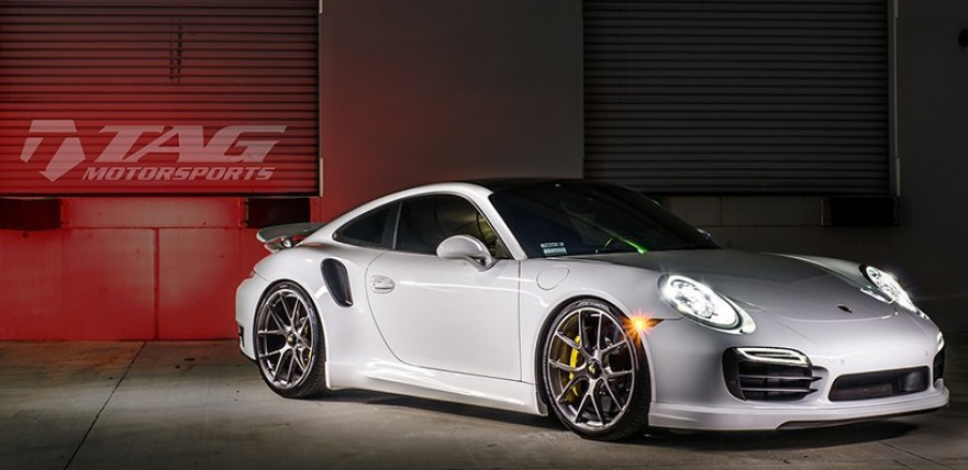 Wicked White TAG Tuned Porsche 991 Turbo