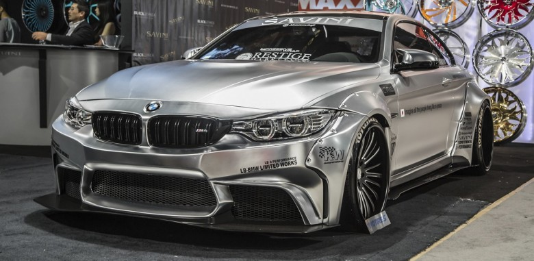 Liberty Walk Bmw M4 Widebody Conversion At Sema 2014