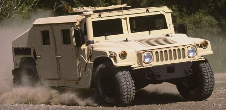 US Army Auctions Surplus H1 Hummers
