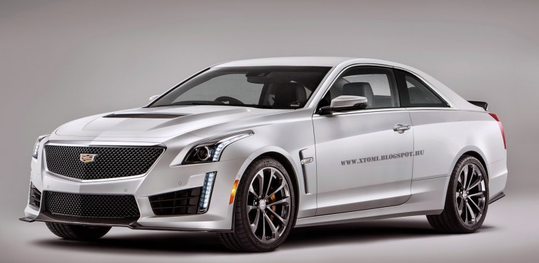 2016 cadillac cts v coupe rendered. Black Bedroom Furniture Sets. Home Design Ideas