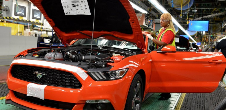 Tour of the Ford Mustang Factory in Detroit