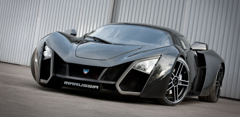 Marussia B2 Russian Supercar Loaded in Monaco