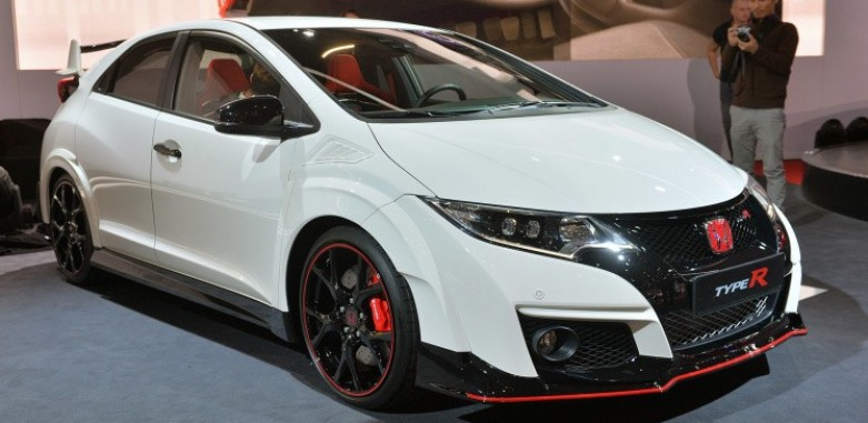 2016 honda civic type r 2015 geneva motor show. Black Bedroom Furniture Sets. Home Design Ideas