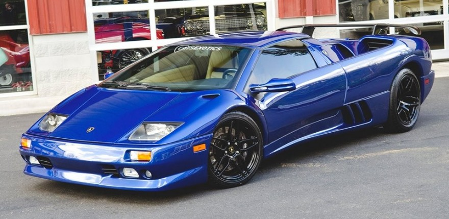 Carverse Epic Find Of The Day Blue Lamborghini Diablo