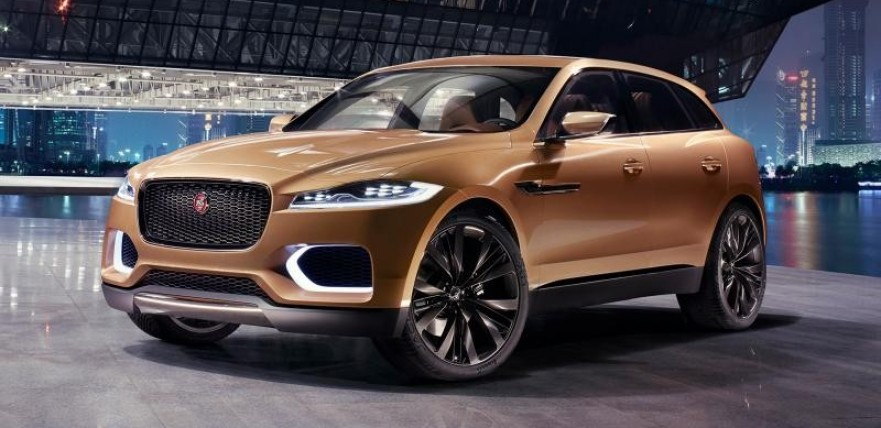 jaguar f-pace official teaser