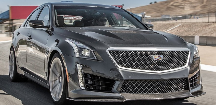 2016 Cadillac ATS-V 0-60 MPH Review: Small Caddy + Big Engine = Fast