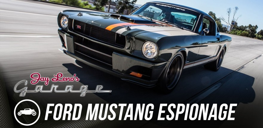 Ringbrothers 1965 Ford Mustang Espionage - Jay Leno's Garage