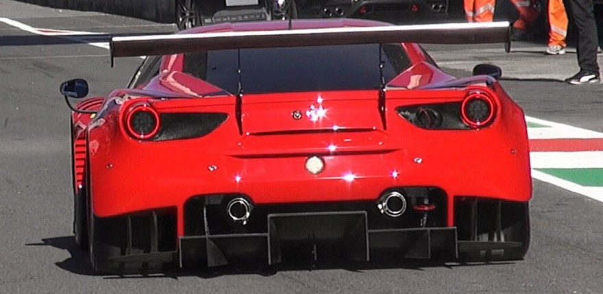 2016 Ferrari 488 GT3 & GTE First Debut On Track - Finali Mondiali Ferrari 2015