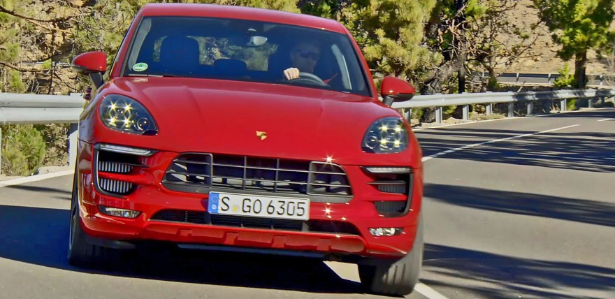 2016 Porsche Macan GTS in the Wild