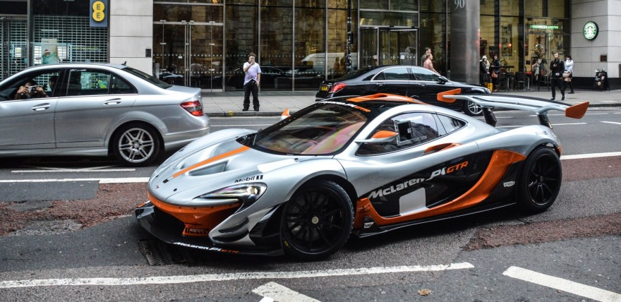 McLaren P1 GTR on the Streets of London!