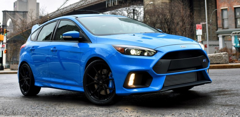 2016 Ford Focus RS Official Test Drive
