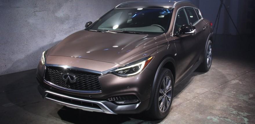 Elegant 2017 Infiniti QX30 First Look  2015 LA Auto Show