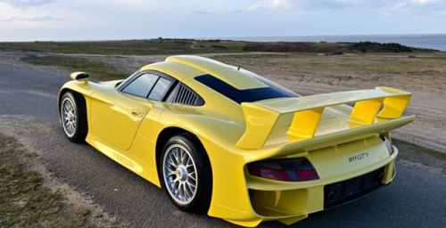 bold and beautiful 1998 porsche 911 gt1 strassenversion up for grabs. Black Bedroom Furniture Sets. Home Design Ideas