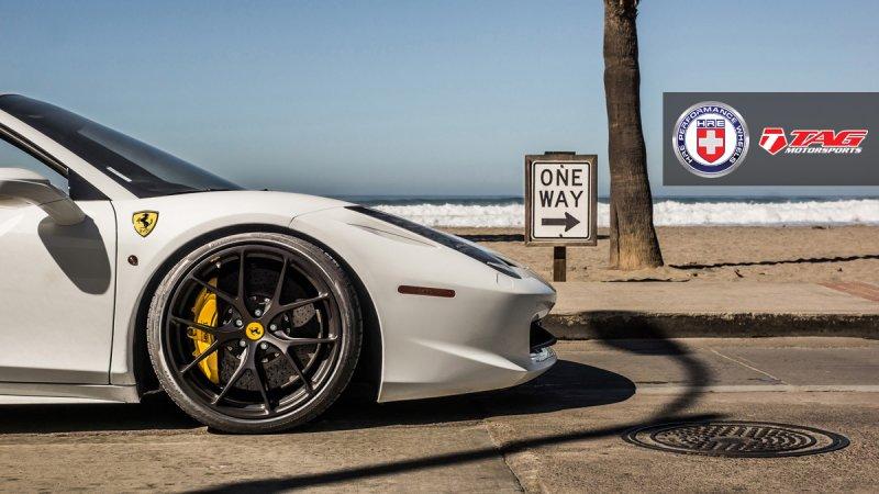 Dreamy Ferrari 458 Spider On Hre P101s