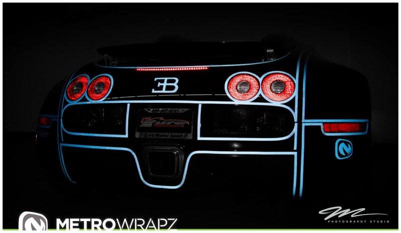 Flo Rida Gets Tron Wrap On Bugatti