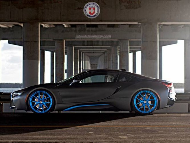 To Amplify The Natural Beauty That The I8 Possesses, Wheels Boutique  Adorned The Hybrid Supercar With A Set Of 22 Inch HRE P101 Wheels That Are  Finished In ...