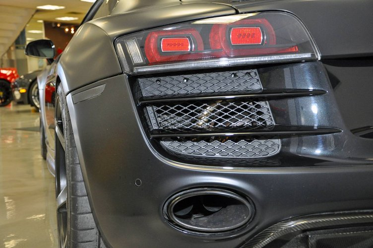 800HP Audi R8 Goes Stealth Mode