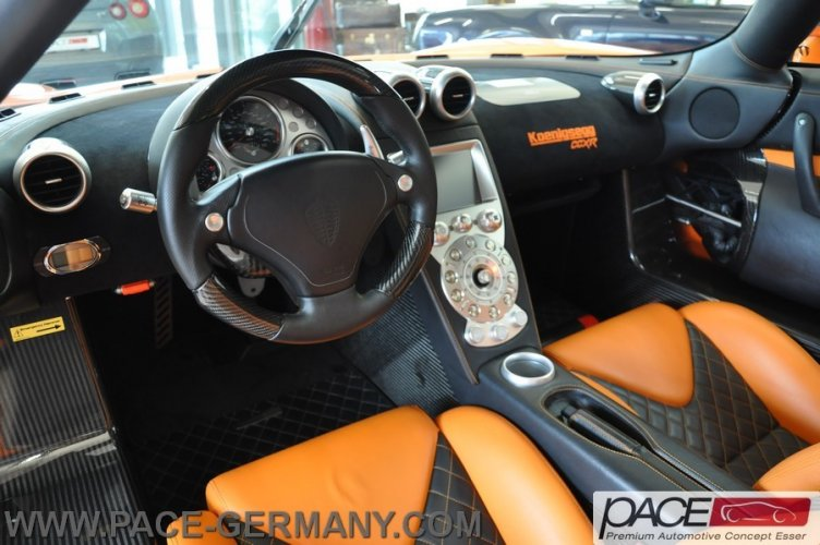Orange Koenigsegg CCXR For Sale In Germany