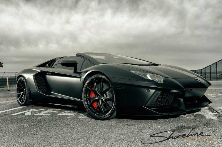 Stealth Bomber Lamborghini Aventador